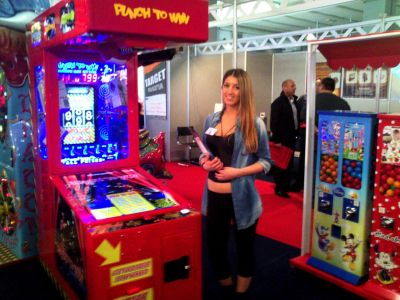 Punch To Win at Gamenet 2013