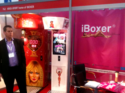 Kriss-Sport with iBoxer® Striptease at EAG 2011
