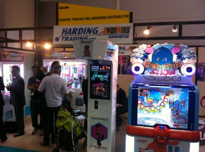 Amusement machines at ENADA 2011