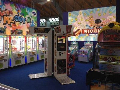 Warrior Boxer and Boxer Arcade Game at ENADA 2013