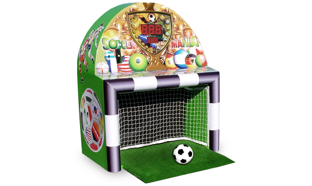 Soccermania Autoball kicker